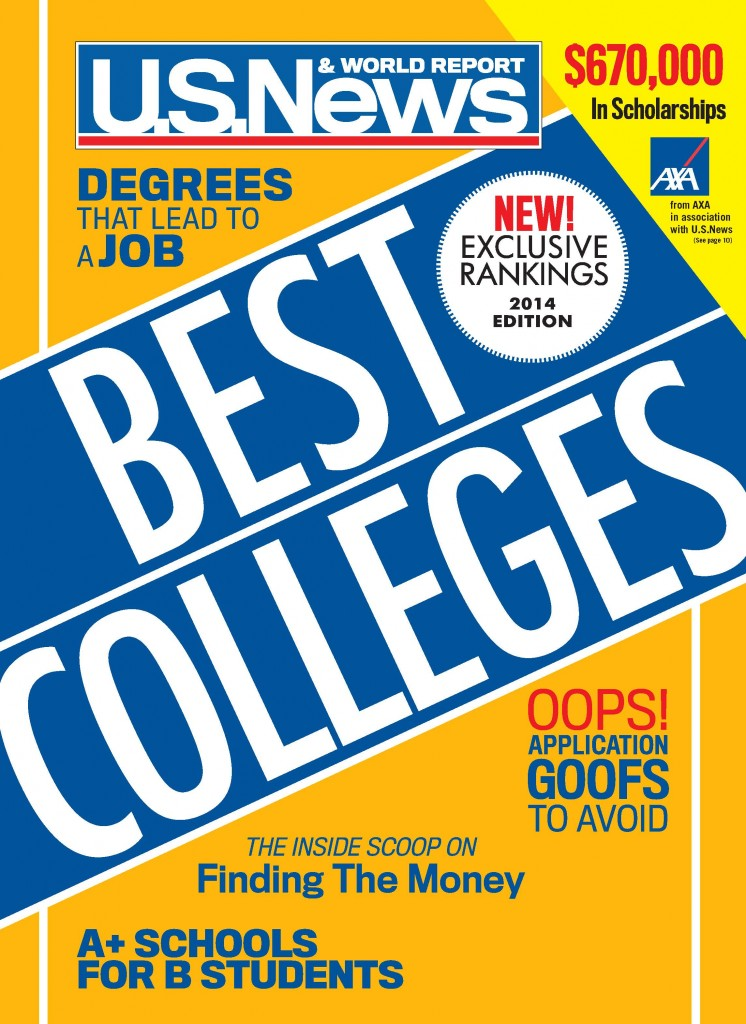 Best Colleges 2014 1P plain cover