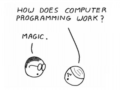 science you are controlling the computer it s like magic